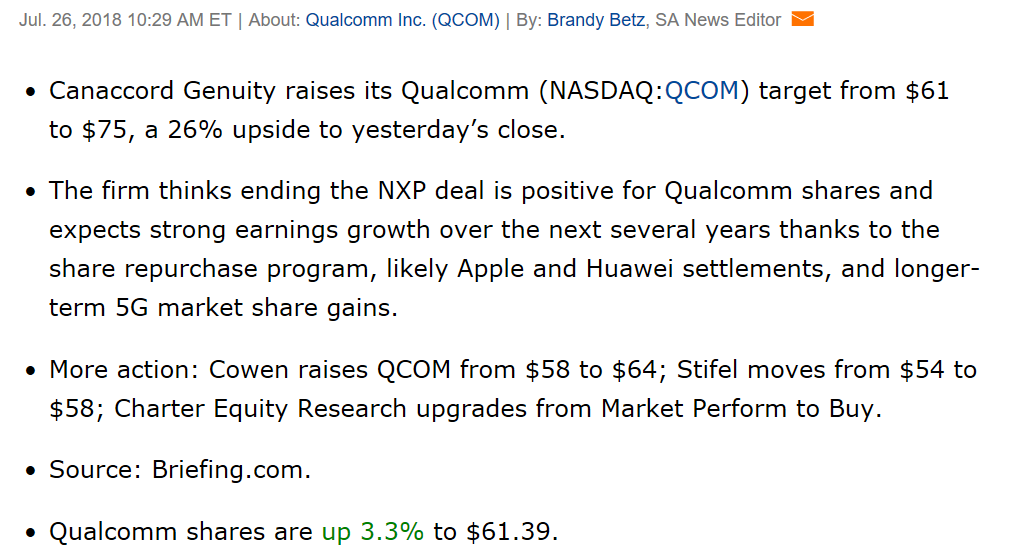 Qualcomm, It's Finally Back In Black - QUALCOMM Incorporated