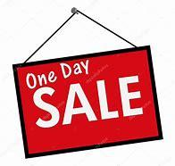 Image result for one day sale pic
