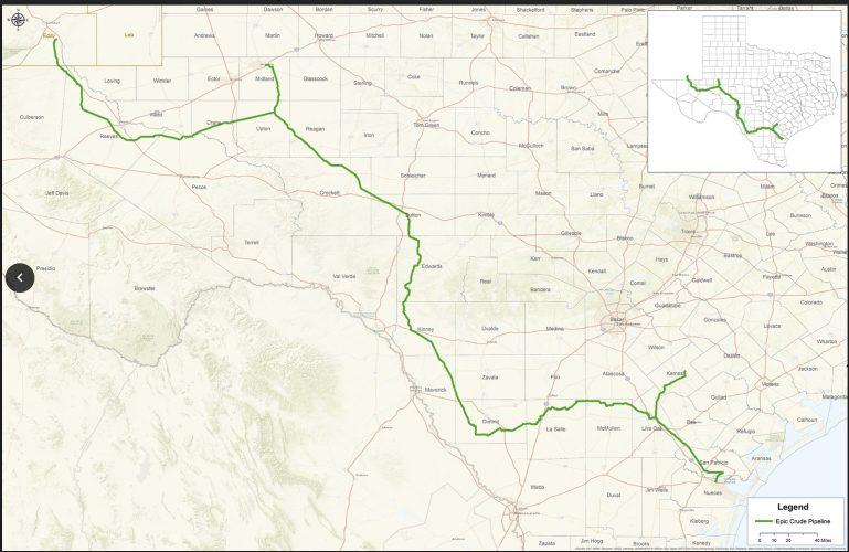 Permian Basin These Oil And Gas Pipeline Projects Will Narrow The - Us-gasoline-pipelines-map