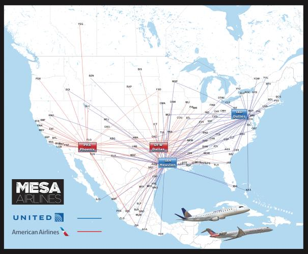 Mesa Air Group Readies Plan For $161 Million IPO - Mesa Air Group ...