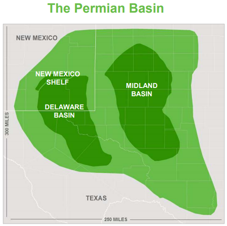 Concho Resources Permian Basins Biggest Oil Producer Will