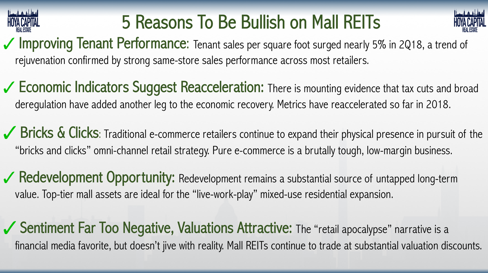 Mall REITs: Retail Rejuvenation | Seeking Alpha