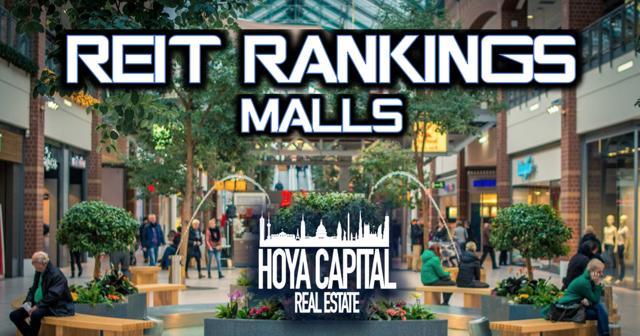 REIT Rankings malls