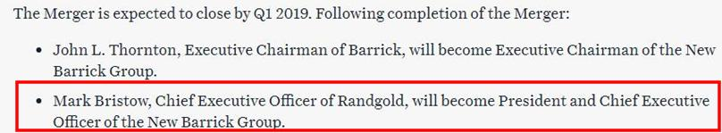 Randgold/Barrick Merger - And What About Nova Gold?