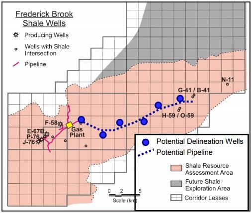 Corridor Resources Frederick Brook Shale