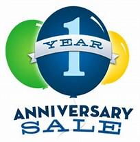 Image result for one year anniversary sale