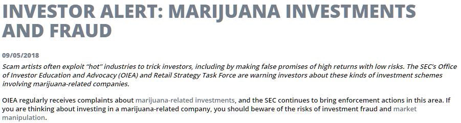 A Warning On Canadian Pot Stocks - Aurora Cannabis Inc  (NYSE:ACB