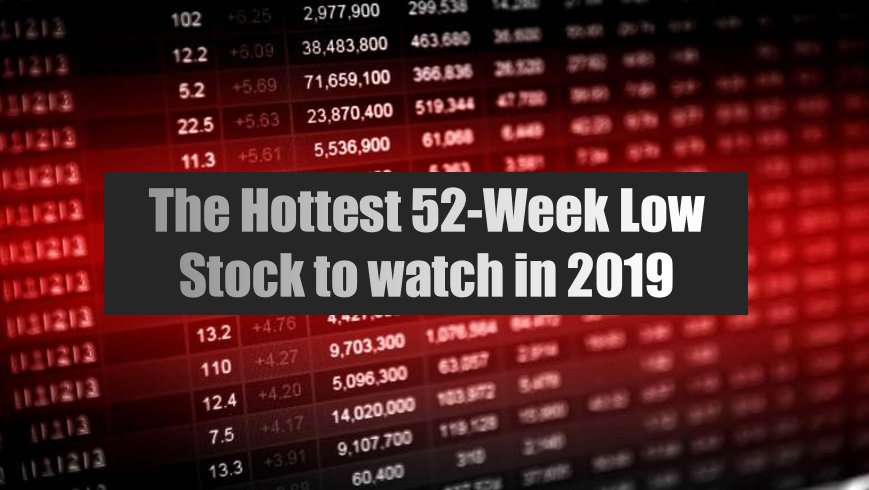 Record Volume Hit's One Of The Hottest 52-Week Low Stocks
