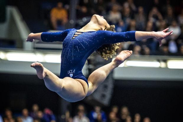 What Katelyn Ohashi is doing is extremely hard to do.