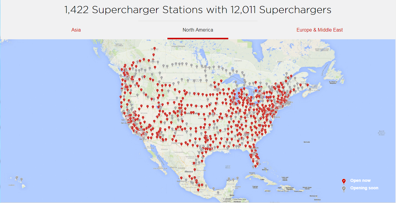 Tesla's Supercharger Network: A Significant Competitive