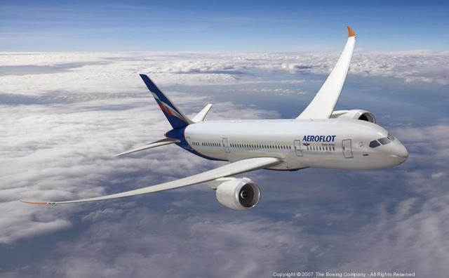 About The Aeroflot Boeing 787 Order
