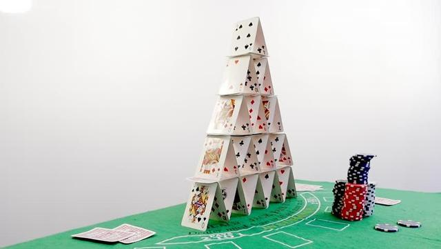 U.S. economy house of cards