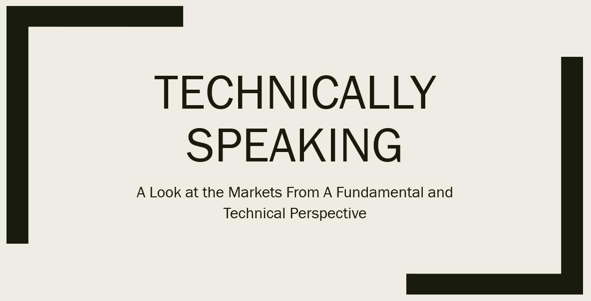 Technically Speaking For November 12