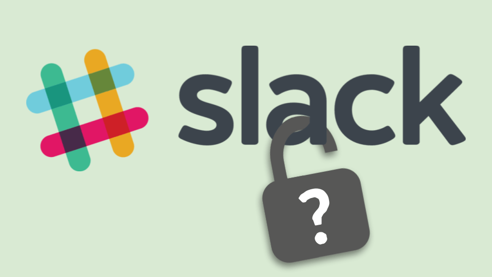 Slack: Surviving Competition Will Be Tough