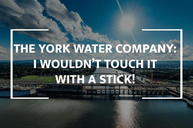 I Wouldn't Touch York Water With A Stick, And Neither Should You