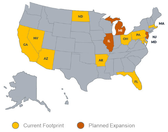 Harvest Health is building a national footprint