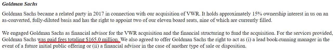 Avantor IPO: Goldman's Bet That Investors Should Not Buy