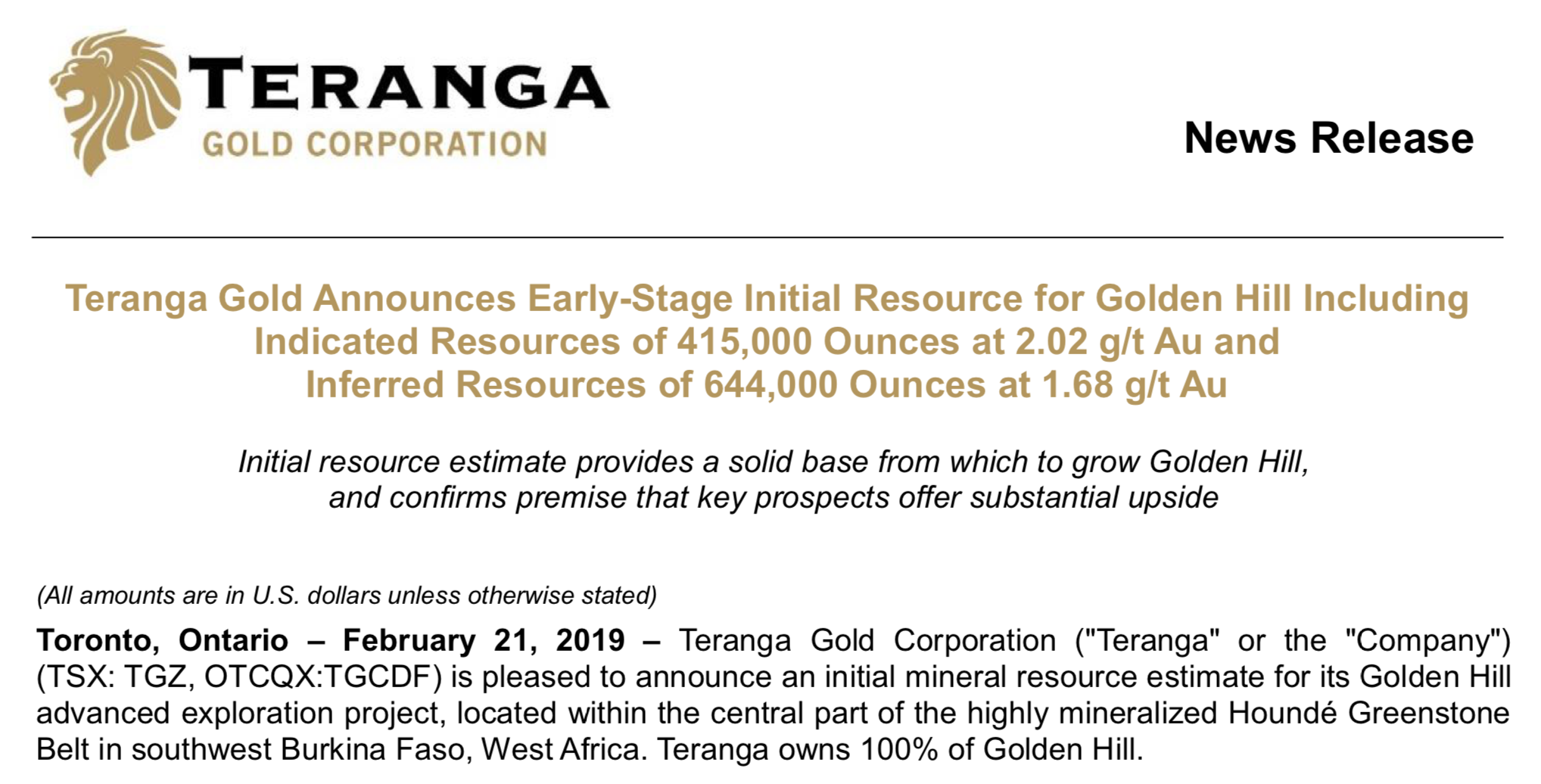 Sarama Resources  Are The Big Fish In The Sea Ready To Make An Offer ... 2013c4fcc5