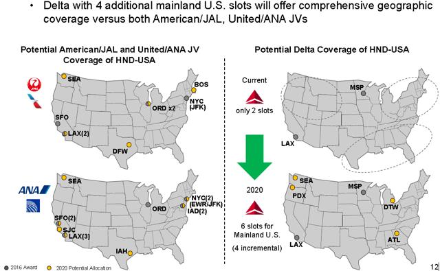 Delta Air Lines Haneda application