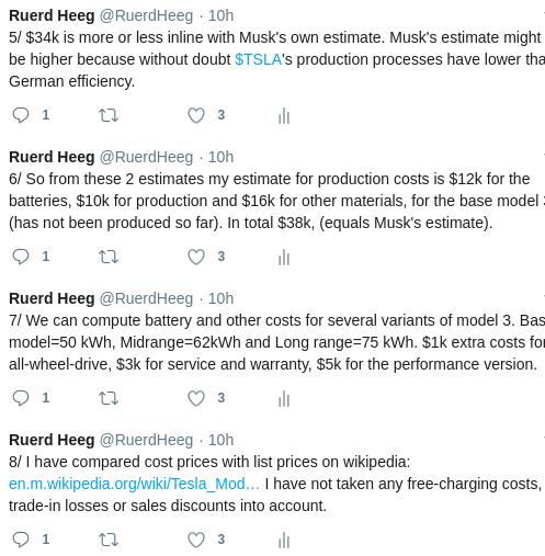 Tesla Battery Cost >> What Battery Costs Mean For Tesla S Margins Ruerd Heeg