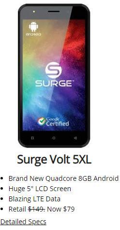 Surge Volt 5XL