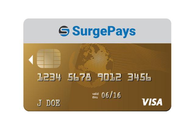 SurgePays Visa Card