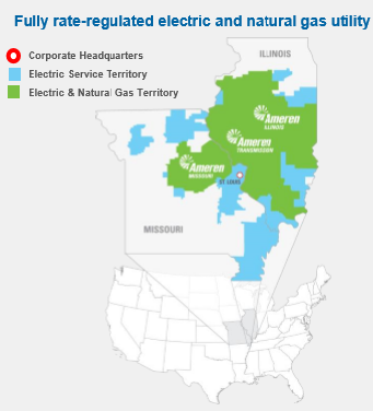 Ameren Corporation Geography