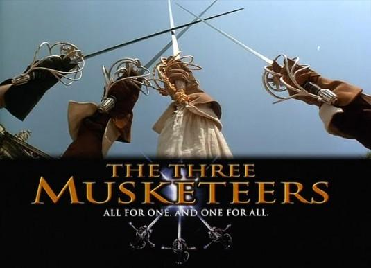 Image result for the three musketeers all for one and one for all