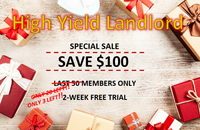 High Yield Landlord - Marketplace Checkout | Seeking Alpha