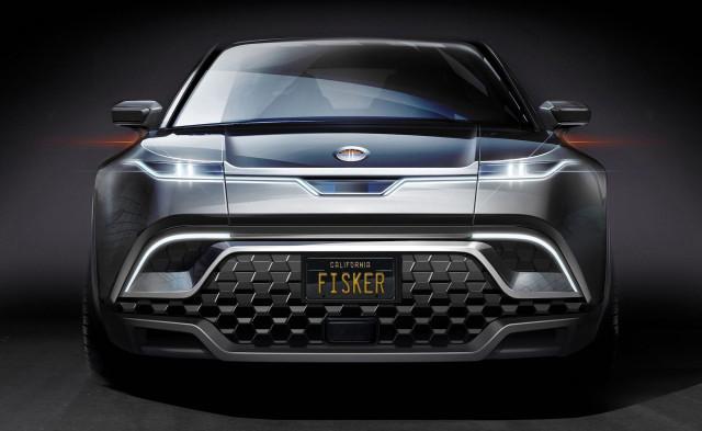 Teaser for Fisker electric SUV