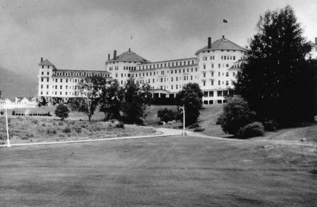 Mt Washington hotel, Bretton Woods, New Hampshire