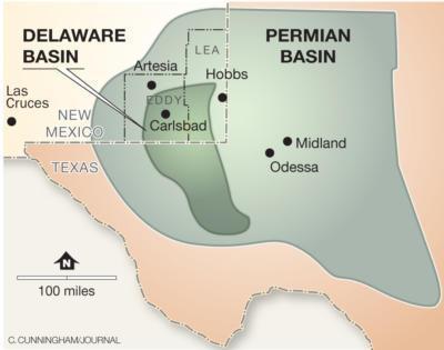 Image result for Delaware basin