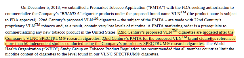 22nd Century: Key Patents Behind MRTP And PMTA Applications Have