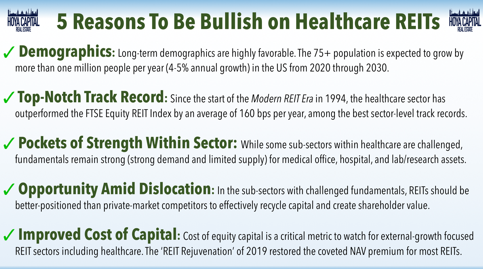 Best Healthcare Reits 2020 Healthcare REITs: Stuck In Rehab | Seeking Alpha
