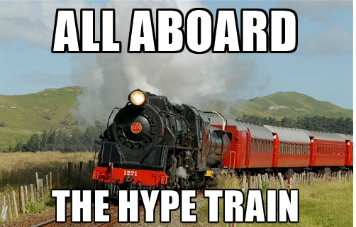 AMD: Get On The Hype Train - And Ride