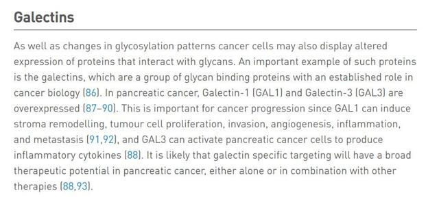 The glycosylation landscape of pancreatic cancer