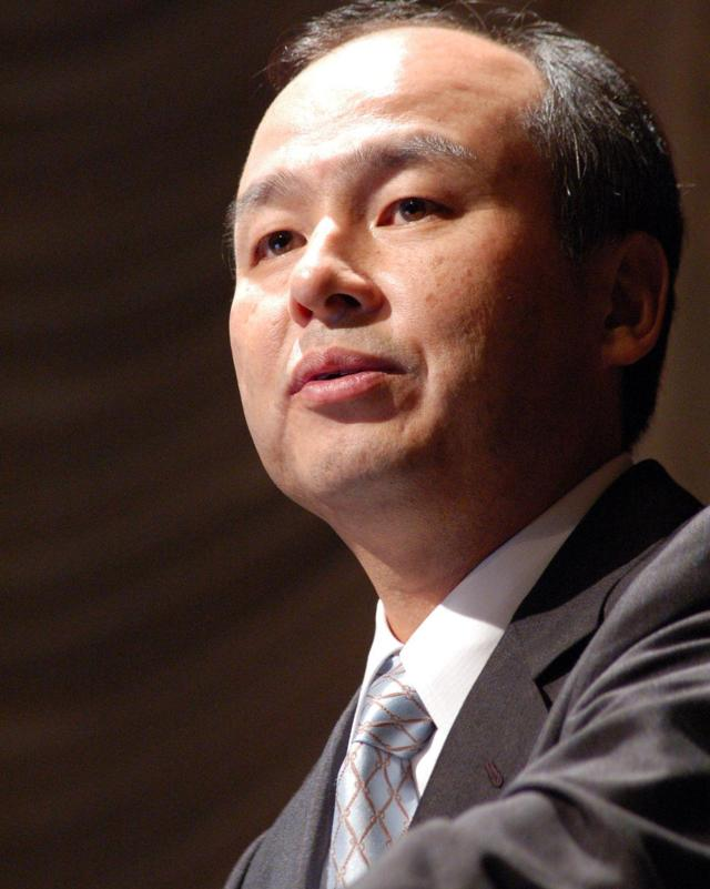 SoftBank founder and CEO Masayoshi Son