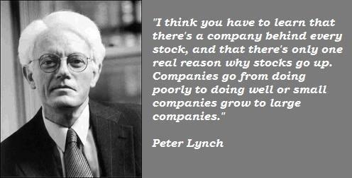 Lynch on stocks.