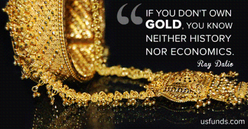 gold and ray dalio