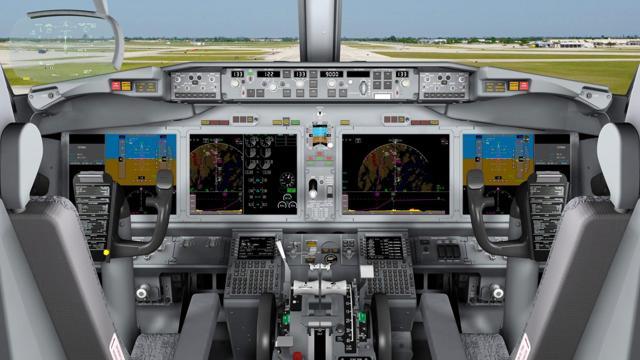 Afbeeldingsresultaat voor 737 max flight deck