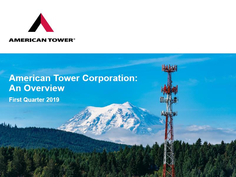 American Tower On An Upward Tear