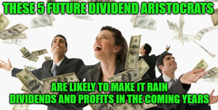 5 Future Dividend Aristocrats To Buy Today