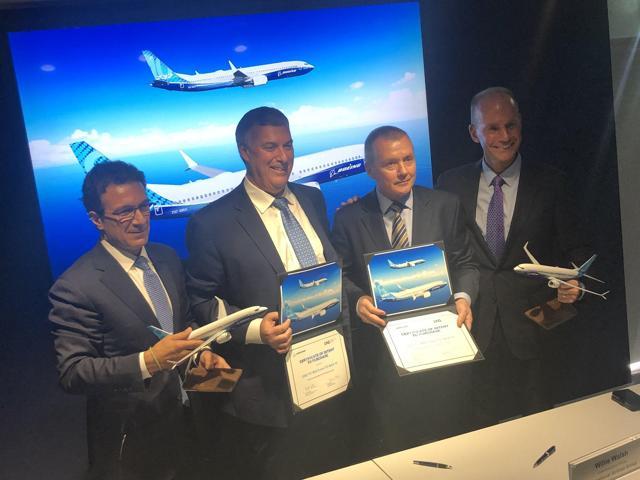 IAG Boeing 737 MAX 200 order