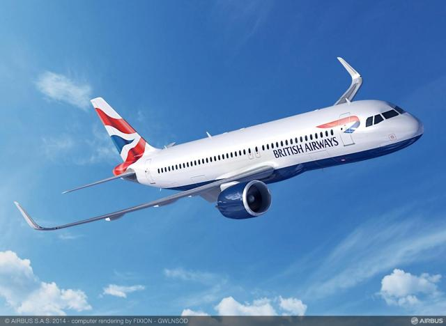A320neo British Airways