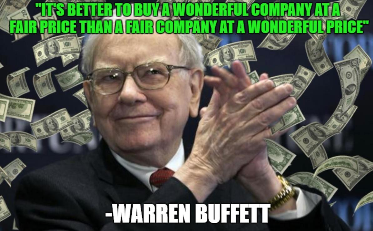 5 Great Buffett Blue Chips