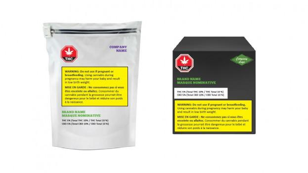 Image result for canada cannabis packaging