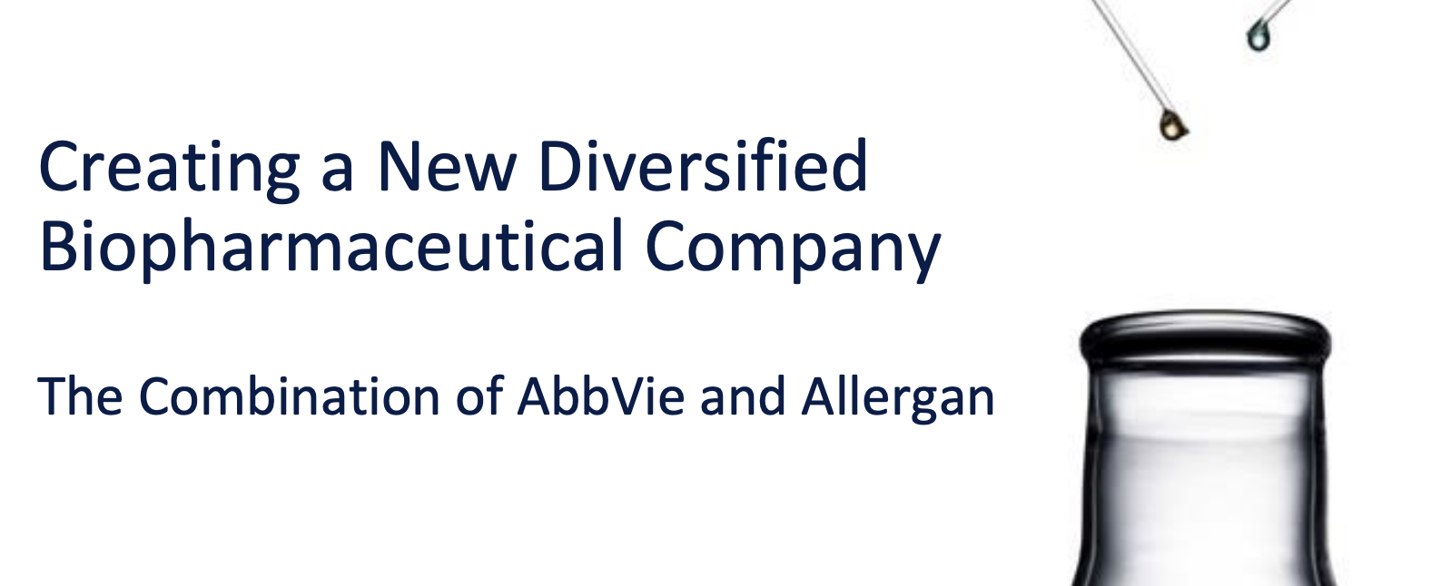 Allergan: Stay For The AbbVie Shares - Allergan plc (NYSE:AGN