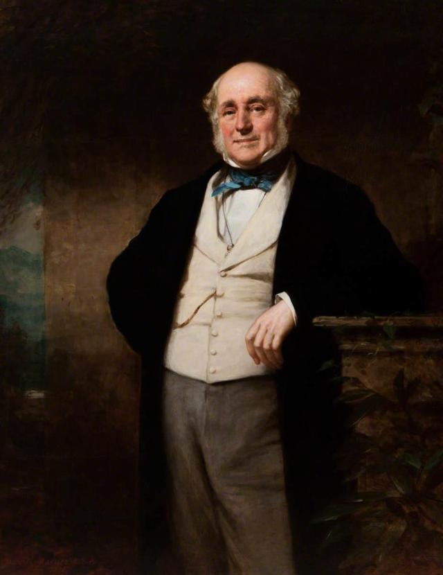 Sir James Matheson Painting By Daniel Mcnee