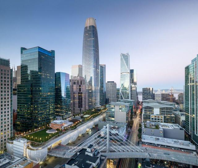 Salesforce Tower, San Francisco, has 34 Schindler