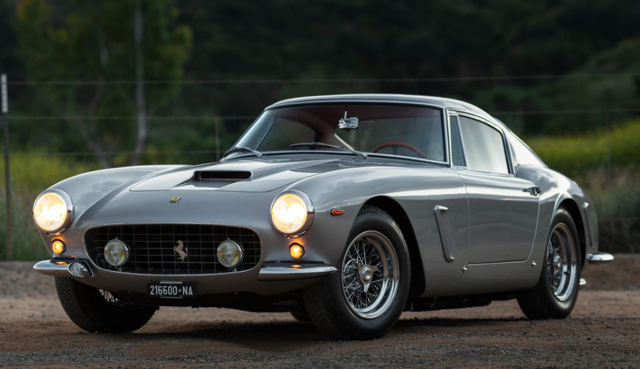 1962 Ferrari 250 GT SWB To Be Auctioned At RM Sotheby